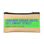 armando aguiar (Rato)  2013 smart street  Cosmetic Bag