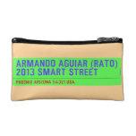 armando aguiar (Rato)  2013 smart street  Cosmetic Bag