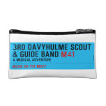 3rd Davyhulme Scout & Guide Band  Cosmetic Bag
