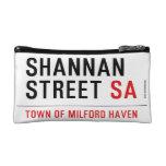 Shannan Street  Cosmetic Bag