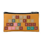 Happy  Periodic  Table Day Fellow Nerds  Cosmetic Bag