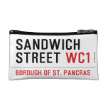 Sandwich Street  Cosmetic Bag