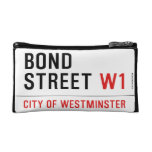Bond Street  Cosmetic Bag