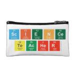 Science Teacher  Cosmetic Bag