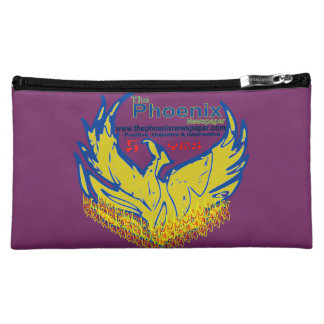 cosmetic bag-customized-phoenix newspaper launch cosmetic bag