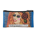 COSMETIC BAG- DESTINED TO BE AN OLD LADY MAKEUP BAG at Zazzle