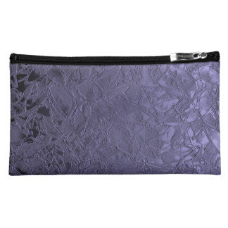 Cosmetic Bag Floral Relief Abstract