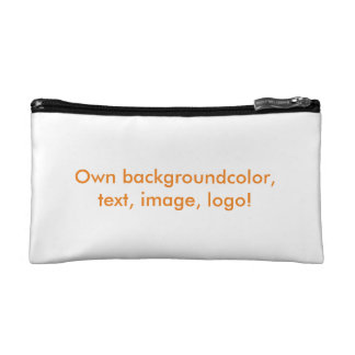 Cosmetic Bag in Own Color - uni White