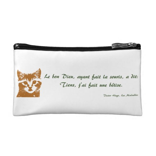 Cosmetic Bag: Le Chat