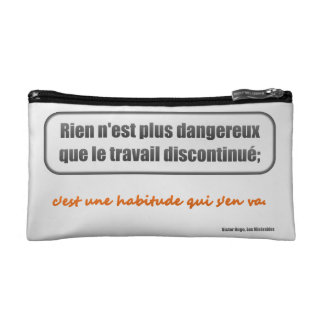 Cosmetic Bag: Le Travail Discontinué Makeup Bag