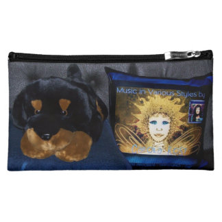 Cosmetic Bag: Plush Puppy with Fairy Pillow Friend Cosmetic Bag