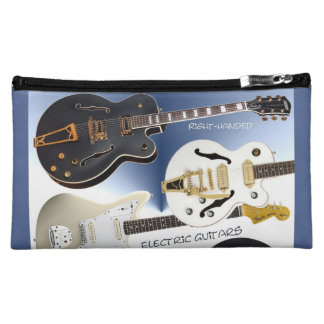 Cosmetic Bag with Super Cool Guitar Design Images