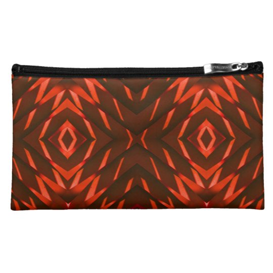 Cosmetic bags abstract designs