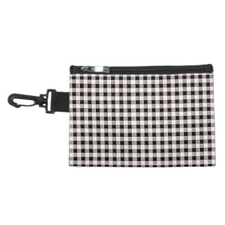 Cosmetic-Black-Gingham-Classic-Travel-Accessories Accessory Bag