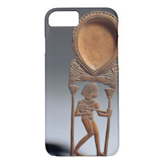 Cosmetic spoon with a figure of a lutenist, New Ki iPhone 8/7 Case