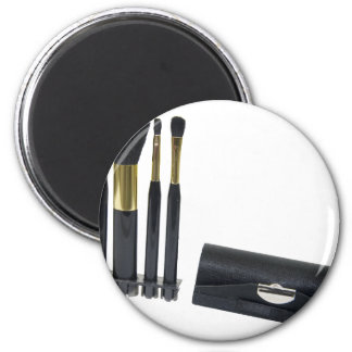 CosmeticBrushes072509 2 Inch Round Magnet