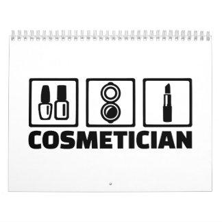 Cosmetician cosmetics calendar