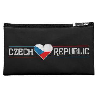 Cosmético de encargo de la República Checa/bolso a