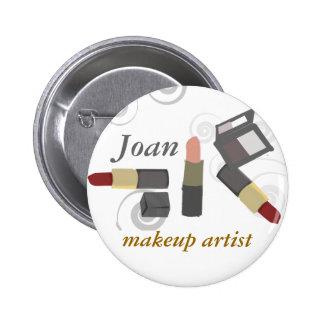 Cosmético del artista de maquillaje del balneario pin