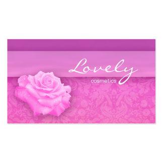 Cosméticos 2 del rosa color de rosa de la flor de
