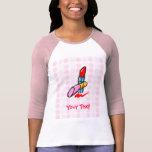 Cosméticos lindos camisetas