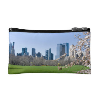 Cosmetics Bag - Central Park in Spring, New York Cosmetic Bag