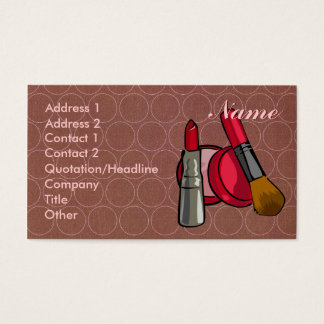 Cosmetics Biz Card