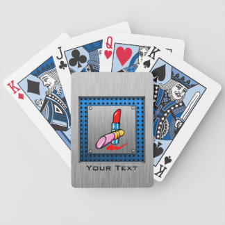 Cosmetics Brushed metal-look Deck Of Cards