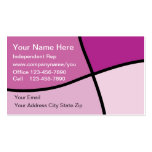 Cosmetics Business Cards