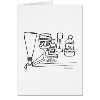 Cosmetics Greeting Card