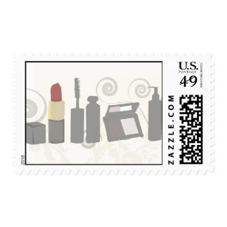 Cosmetics Cosmetology Stamps