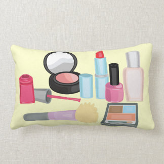 Cosmetics Decorative Throw Pillow