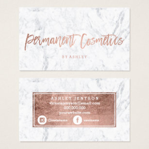 Permanent makeup business cards best business 2017 semi permanent makeup business cards best reheart Image collections