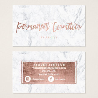 Permanent makeup artist business cards makeup virtual fretboard permanent makeup artist business cards templates zazzle reheart Gallery