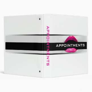 Cosmetologist Appointment Binder