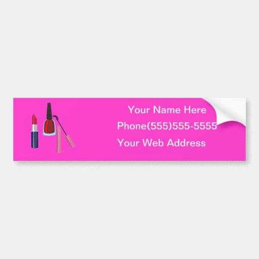 Cosmetologist Business advertisment Bumper Sticker