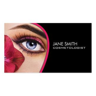 Cosmetologist Cosmetology Makeup Artist Elegant Business Cards
