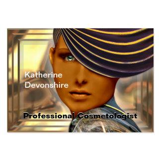 Cosmetologist del profesional de Flairnstar Plantilla De Tarjeta Personal