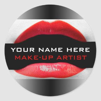 Cosmetologist Labels sticker