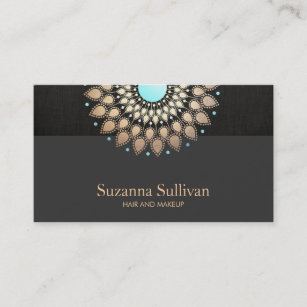 Woman face collage cosmetologist business card cosmetologist cosmetology beauty salon gold black makeup artist business card colourmoves