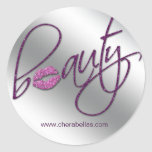 Cosmetology Beauty Salon sticker purple