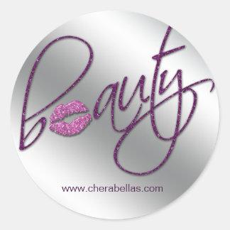 Cosmetology Beauty Salon sticker purple