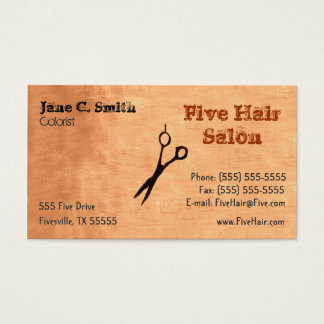 Cosmetology Business Card