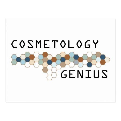 Cosmetology Genius Postcard