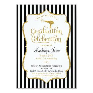 Cosmetology Graduation Party Invitation Beauty
