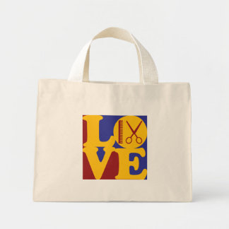 Cosmetology Love Mini Tote Bag