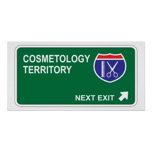 Cosmetology Next Exit Poster
