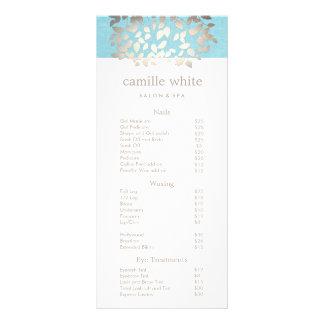 Cosmetology Silver Leaves Salon Price List Menu 2