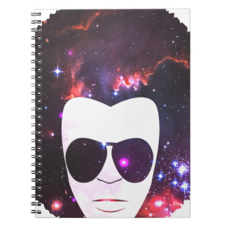 Cosmic Afro Notebook