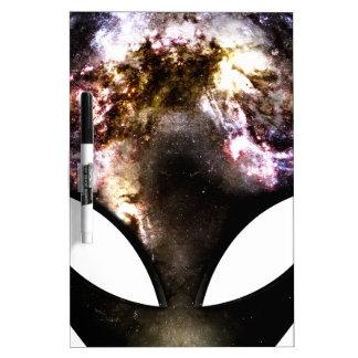 Cosmic Alien Dry Erase Board